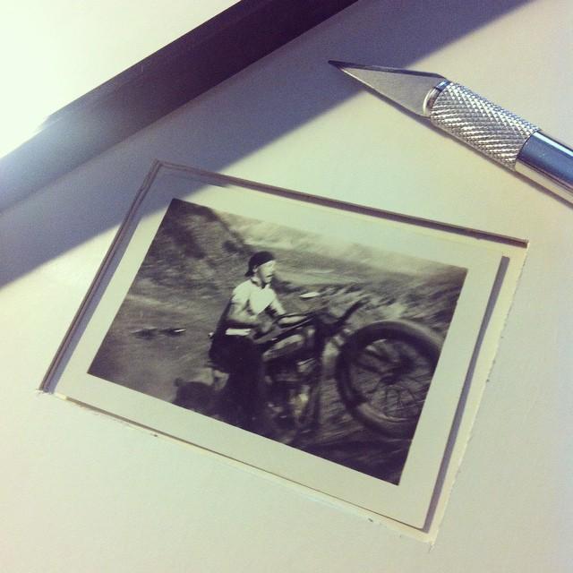 Mise en valeur #vintage #motorcycle #photographie