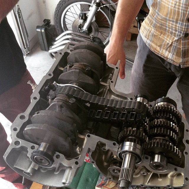 Upgrade south africa parts ttr400 pour mademoiselle #honda #cb400f